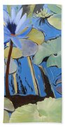 Capistrano Lillies Beach Towel