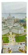 Capital Panoramic Beach Towel