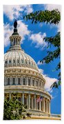 Capitol Of The United States Beach Towel