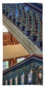 Capitol Stairwell Beach Towel
