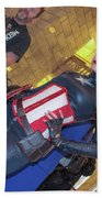 Captain America Beach Towel