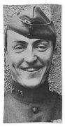 Captain Eddie Rickenbacker Beach Towel