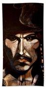 Captain Jack Sparrow Beach Towel