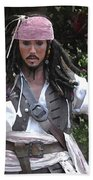 Captain Sparrow Beach Towel