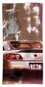 Car 001 Beach Towel