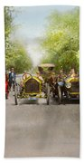 Car - Race - Hold On To Your Hats 1915 Beach Towel