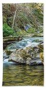 Caradocs Falls 1 Beach Towel