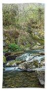 Caradocs Falls 2 Beach Towel
