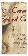 Caramel Spiced Coffee Beach Towel