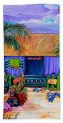 Cara's Island Time Beach Towel by Patti Schermerhorn