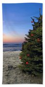 Cardiff Christmas Tree Beach Towel