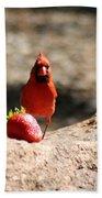 Cardinal Rule Beach Towel