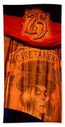 Caretaker Banner Beach Towel