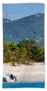 Caribbean Island Beach Towel