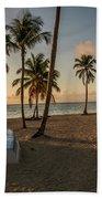 Caribbean Life Beach Towel