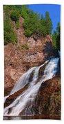 Caribou Falls Beach Towel