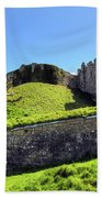 Carisbrooke Castle - Isle Of Wight Beach Towel