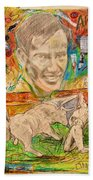 Carlos Arruza Beach Towel