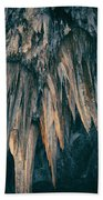 Carlsbad Caverns National Park Chandelier Beach Towel