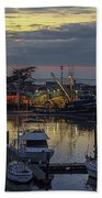 Carmel Coast Marina Beach Towel