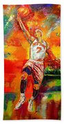 Carmelo Anthony New York Knicks Beach Towel