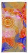 Carnival Abstract 1 Beach Towel