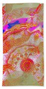 Carnival Abstract 2 Beach Towel