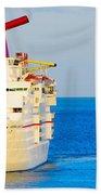 Carnival Cruise Ship Beach Towel