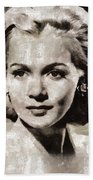 Carole Landis, Vintage Actress Beach Towel