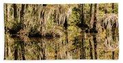 Carolina Swamp Beach Towel