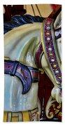 Carousel Horse - 7 Beach Towel