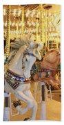 Carousel Horse 2 Beach Towel