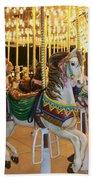Carousel Horse 4 Beach Towel