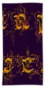 Carpediem Redgold Beach Towel