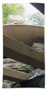 Carport Fallingwater Frank Lloyd Wright Architect  Beach Towel