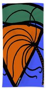 Carrot And Stick Beach Towel
