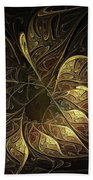 Carved In Gold Beach Towel