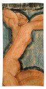 Caryatid Beach Towel