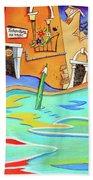 Casa Del Tintoretto Beach Towel
