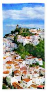 Casares From Laura's View Beach Towel
