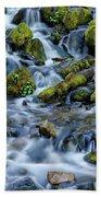 Cascade Of Many Waters Beach Towel