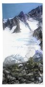 Cascade Splendor  Mount Fury Beach Towel