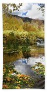 Cascade Springs Large Pool  Beach Towel