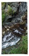 Cascadilla Falls Creek Gorge Trail Giant's Staircase Beach Towel