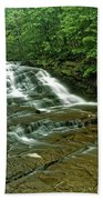 Cascadilla Gorge Falls Beach Towel
