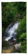 Cascadilla Waterfalls Cornell University Ithaca New York 02 Beach Towel