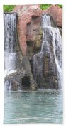 Cascading Waterfall Beach Towel