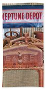Case Tractor 1918-1929 Beach Towel