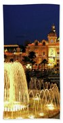 Casino De Monte Carlo-circa 2005 Beach Towel