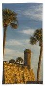 Castillo De San Marcos Dawn II Beach Towel
